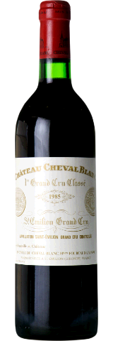 CHATEAU CHEVAL BLANC 1985. Chateau Cheval Blanc / Heritiers Fourcaud-Laussac