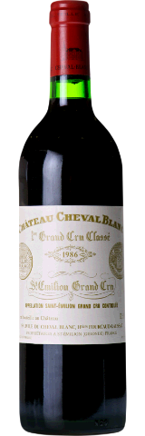 CHATEAU CHEVAL BLANC 1986. Chateau Cheval Blanc / Heritiers Fourcaud-Laussac